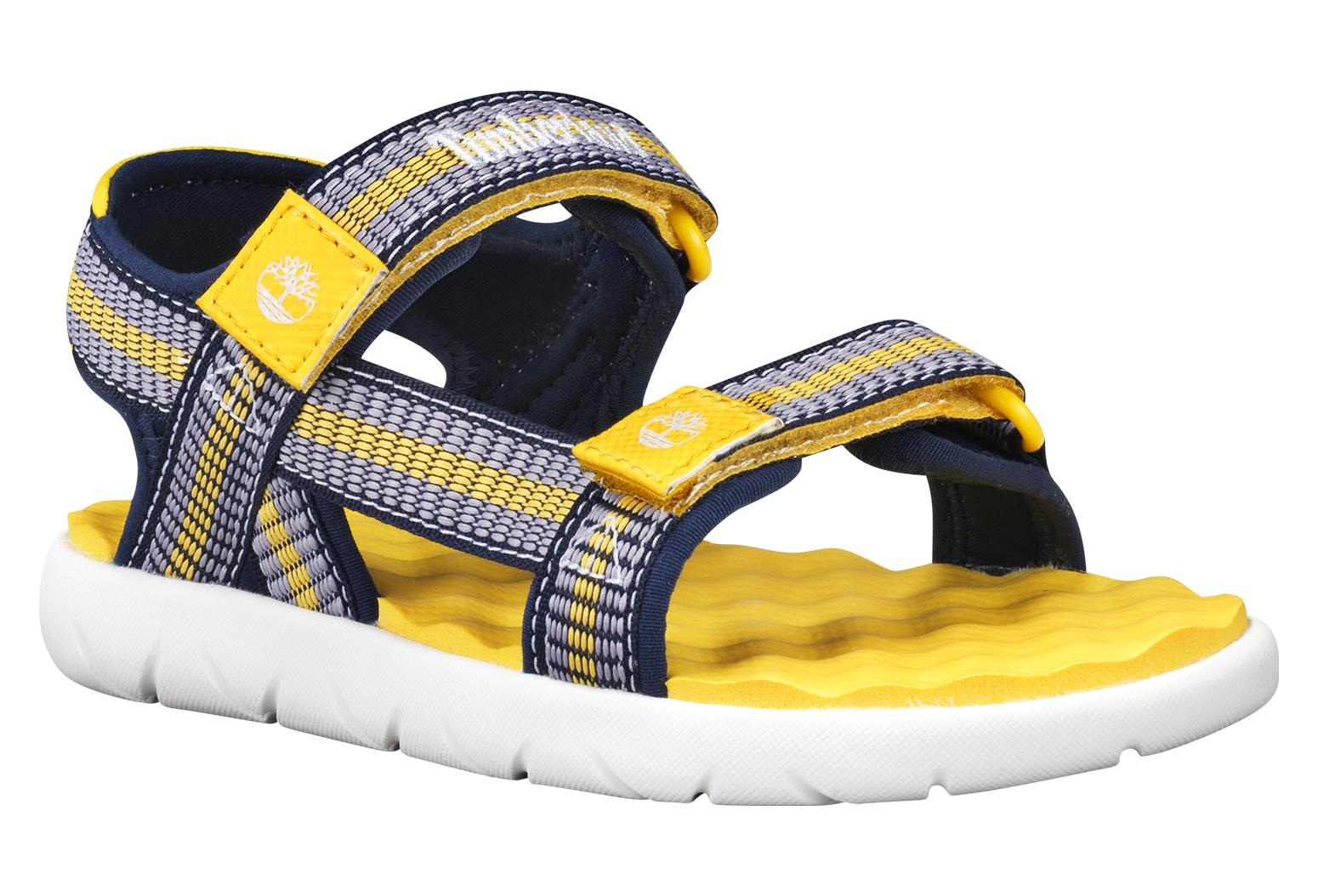 choose latest how to get stable quality Timberland Youth Perkins Row Web Grey / Yellow