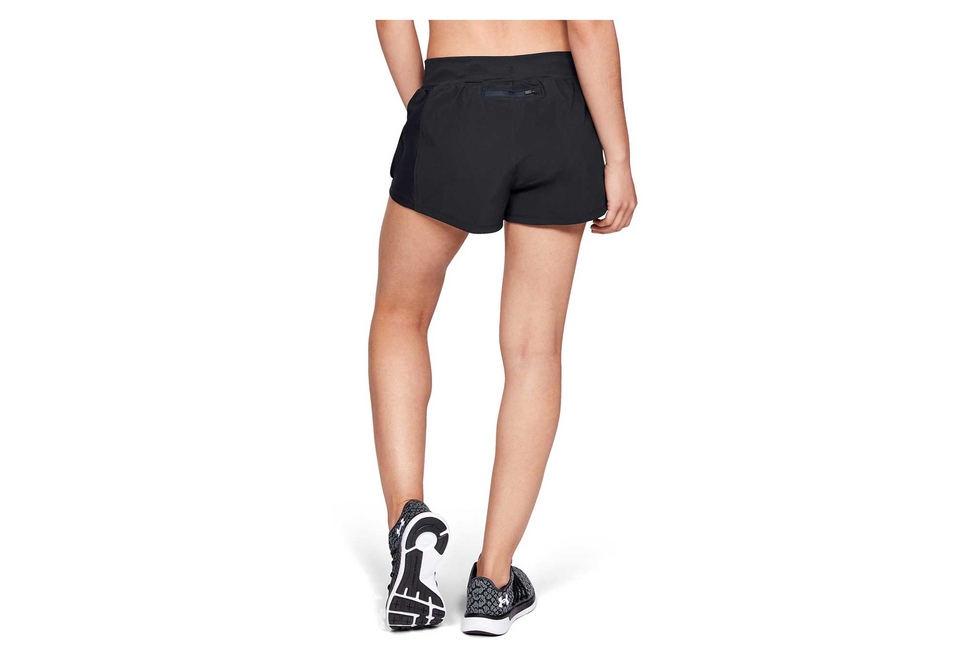 under armour speedpocket damen shorts schwarz. Black Bedroom Furniture Sets. Home Design Ideas