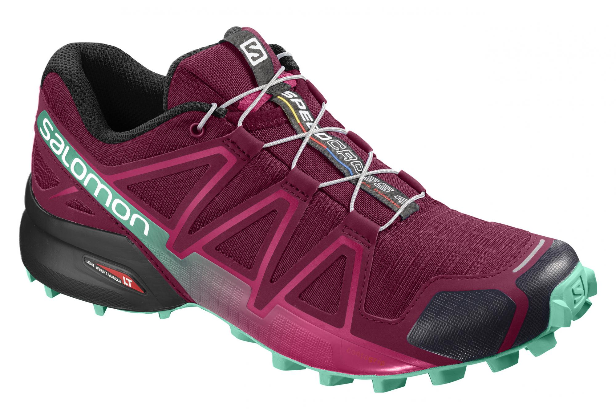 Chaussures de Trail Femme Salomon Speedcross 4 Violet Bleu