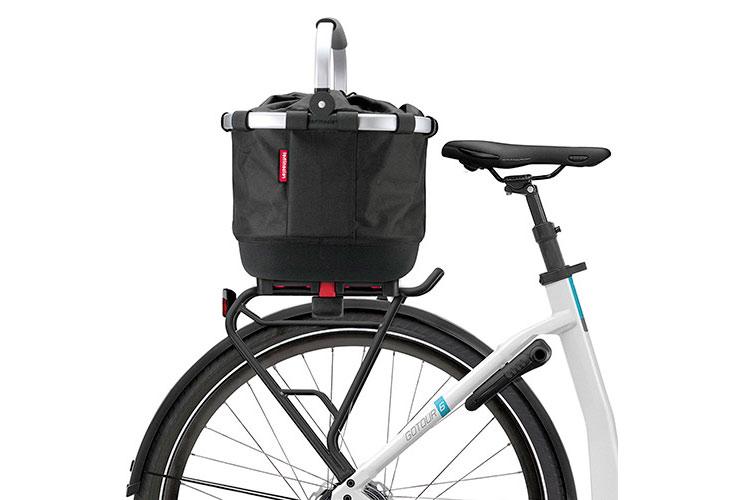 Klickfix Vélo City Sac Carrybag GT Margarite 42x33x28cm pour Doubleit