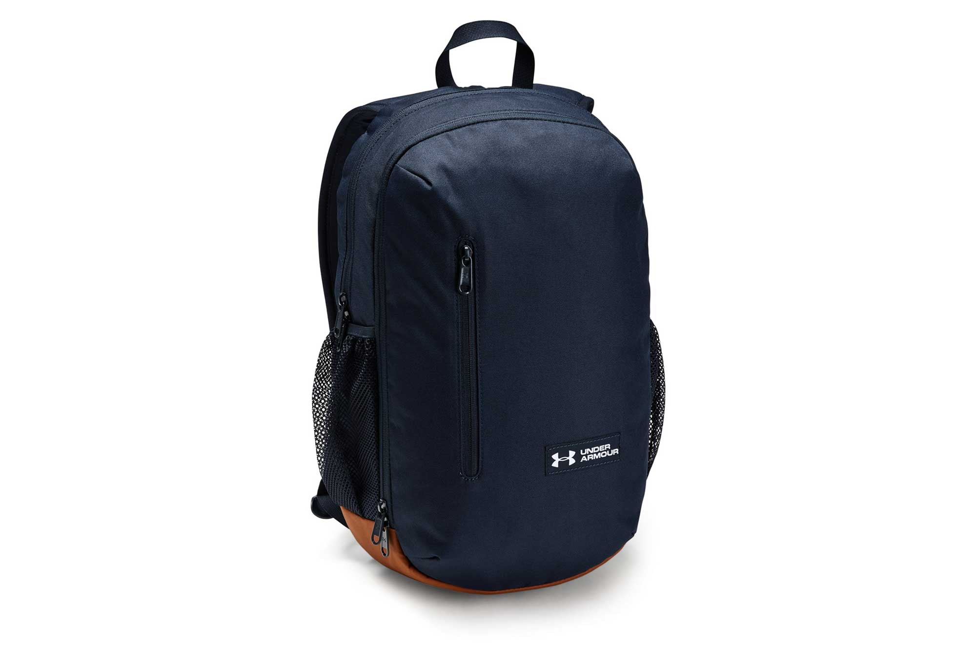0092efaa582 Under Armour Roland Backpack Navy Blue Brown | Alltricks.com