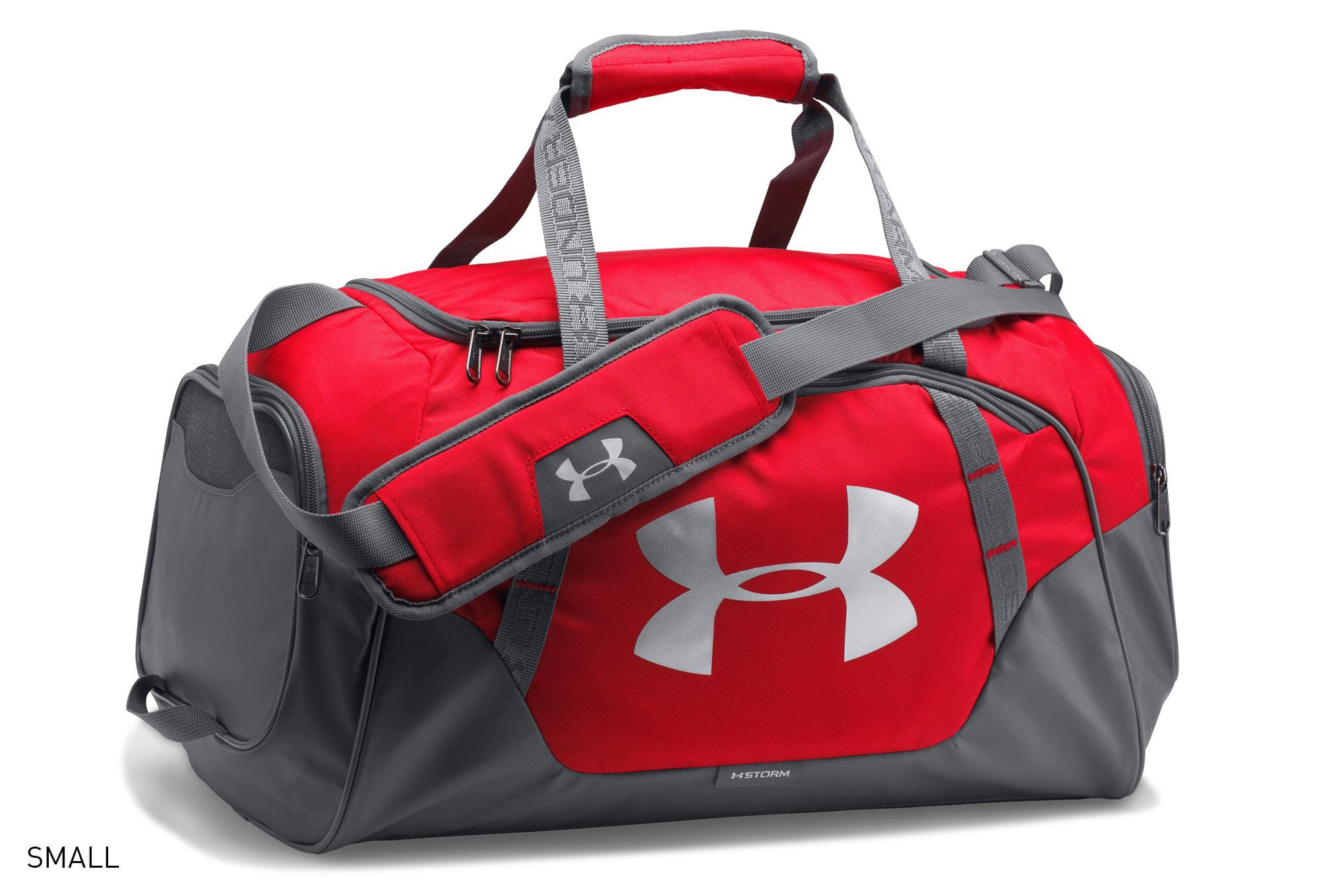 ef5102281 Under Armour Undeniable 3.0 Sport Bag Red Grey | Alltricks.es