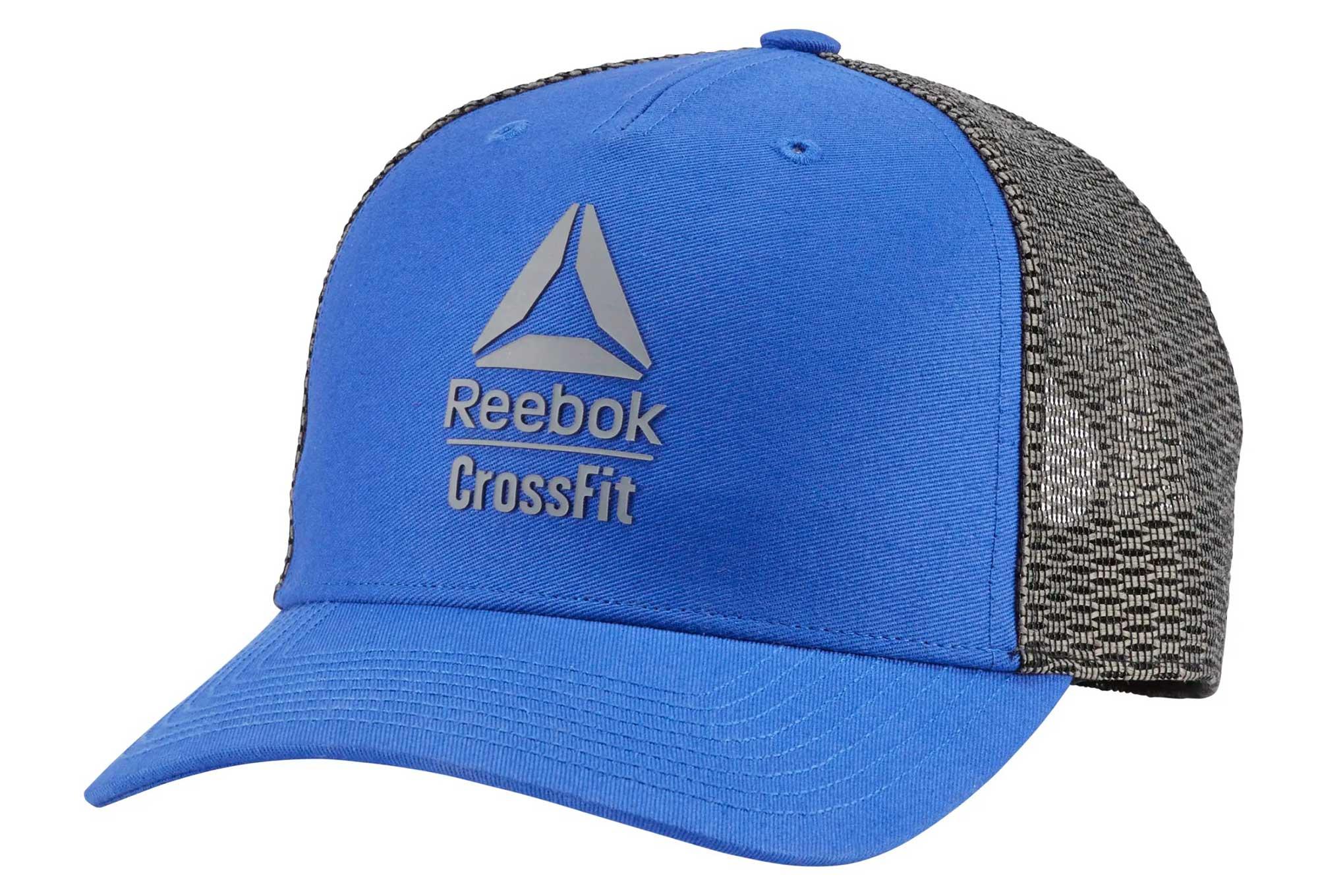 Salida naranja Muscular  Reebok CrossFit Cap Blue Grey | Alltricks.com