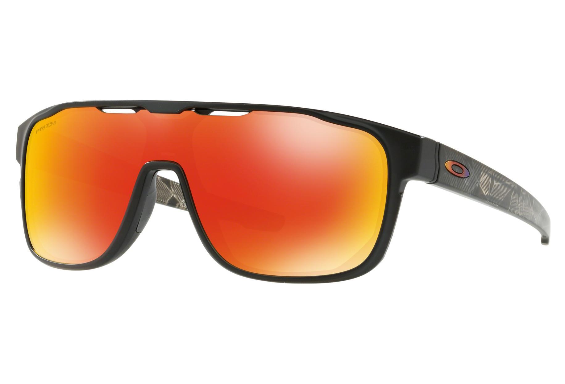 94cc44428 Oakley Sunglasses Crossrange Shield Prizmatic Collection / Matte Black  Prizmatic / Prizm Ruby / Ref. OO9387-0931   Alltricks.com