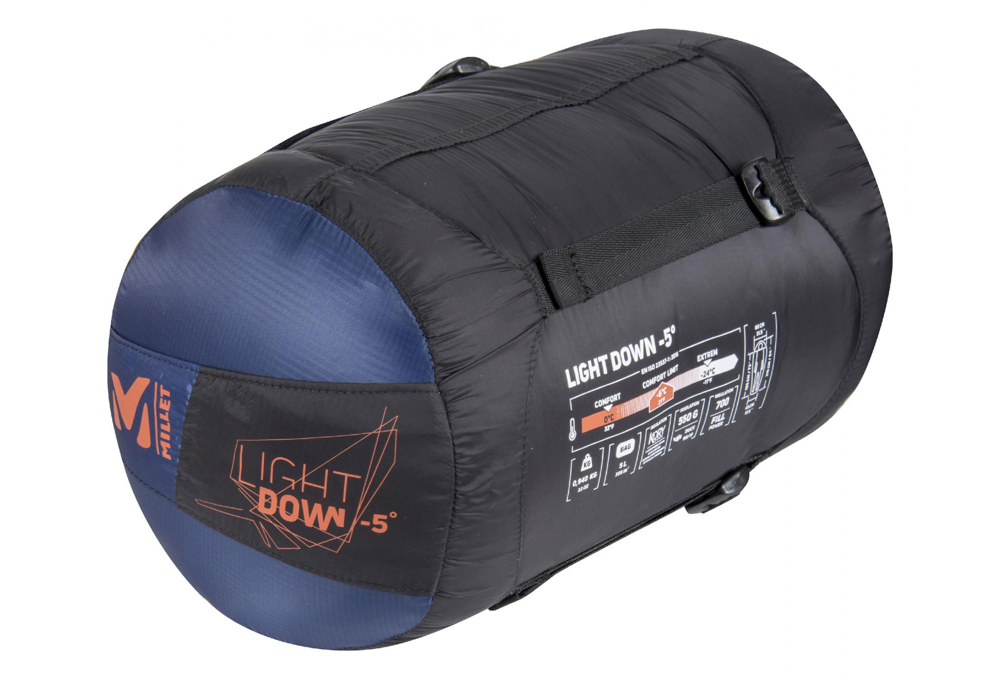 Millet Light Down 5 Sleeping Bag Blue