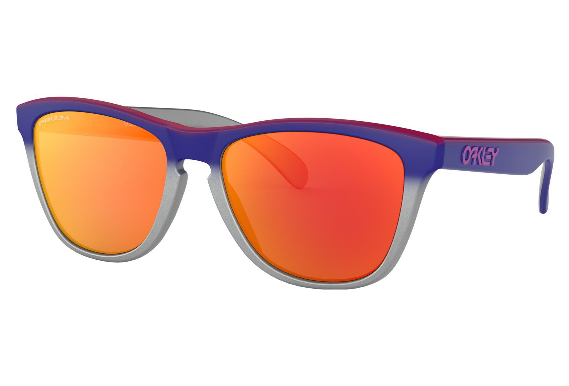 0bf098e371 Oakley Sunglasses Frogskins Splatterfade Collection / Black/Pink / Prizm  Ruby / Ref. OO9013-F155 | Alltricks.com