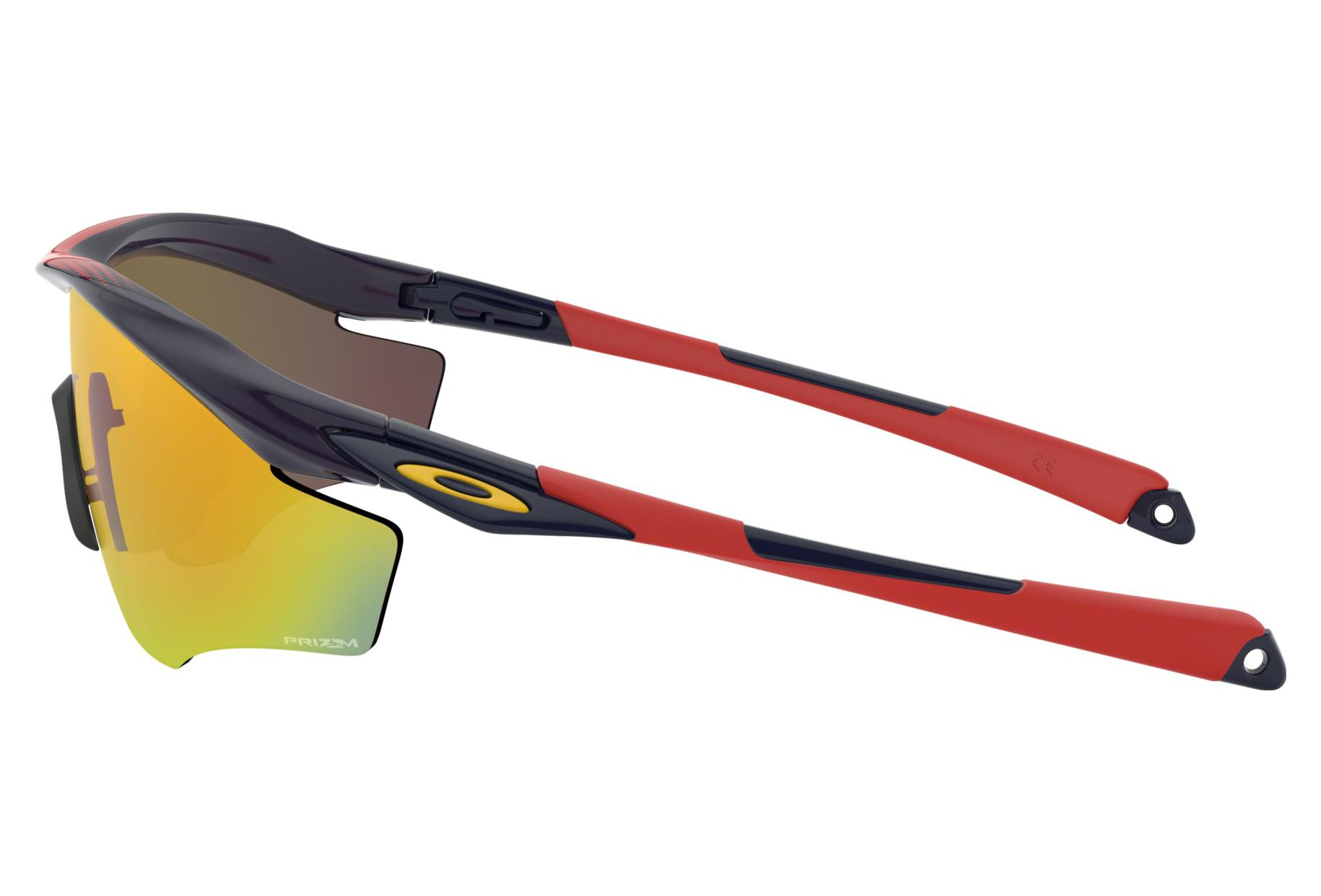 c893d939ae Oakley Sunglasses M2 Frame XL Snapback Collection   Navy   Prizm Ruby    OO9343-1245