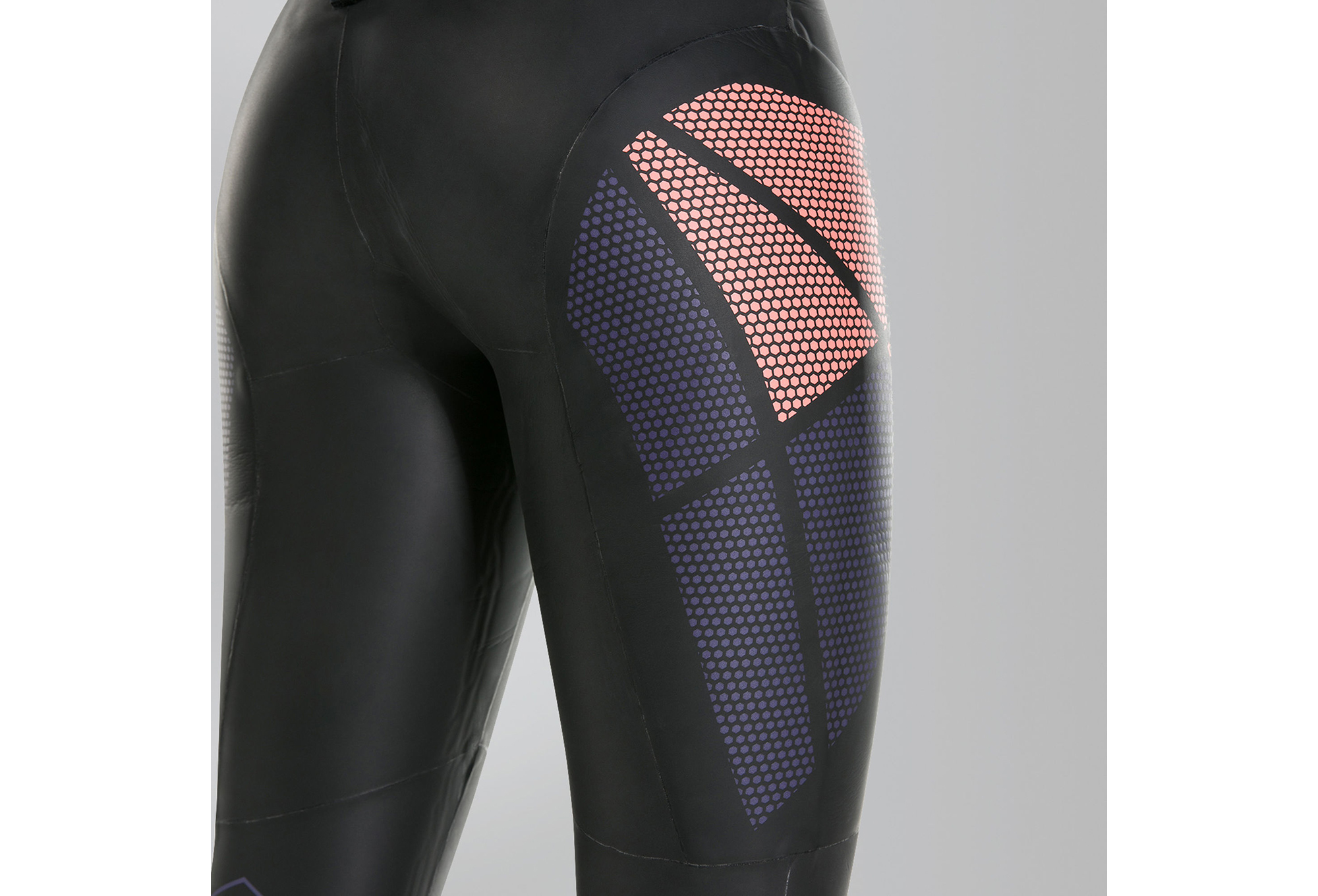 Speedo Fastskin Xenon Women Wetsuit Black Red  9a6e96255