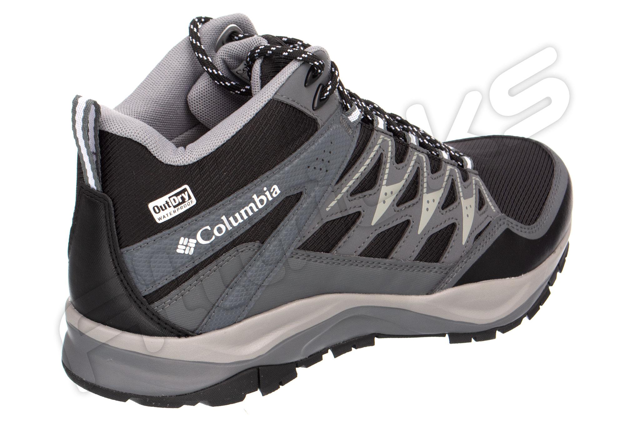 Outdry Mid Negro Blanco Zapatos Columbia Wayfinder dWBrCexo