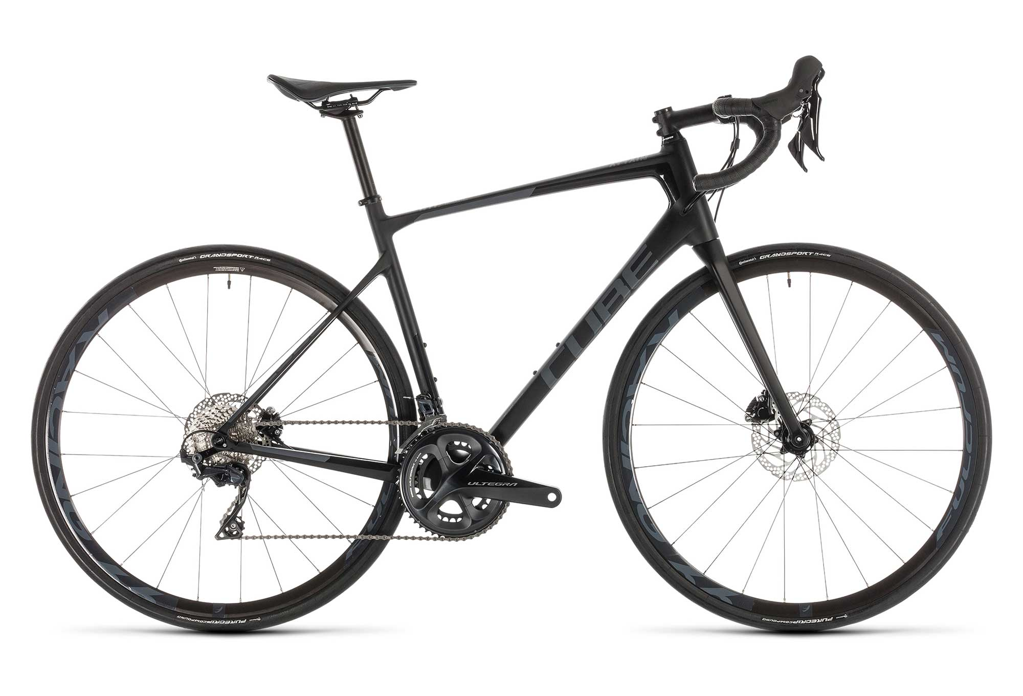 3de61bbec3c Cube Attain GTC SL Disc Road Bike 2019 Shimano Ultegra 11S Black |  Alltricks.com