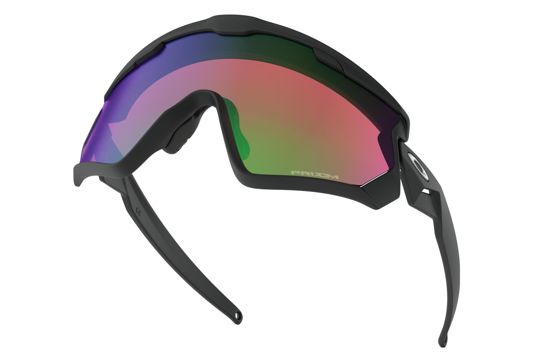 2da51d954 Oakley Sunglasses Wind Jacket 2.0 / Matte Black/ Prizm Snow Jade Iridium /  Ref : OO9418-0145