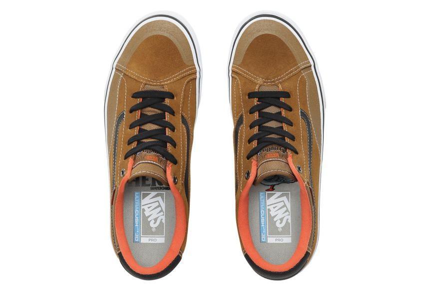 Vans Shoes TNT Advanced Prototype x AntiHero Brown Khaki