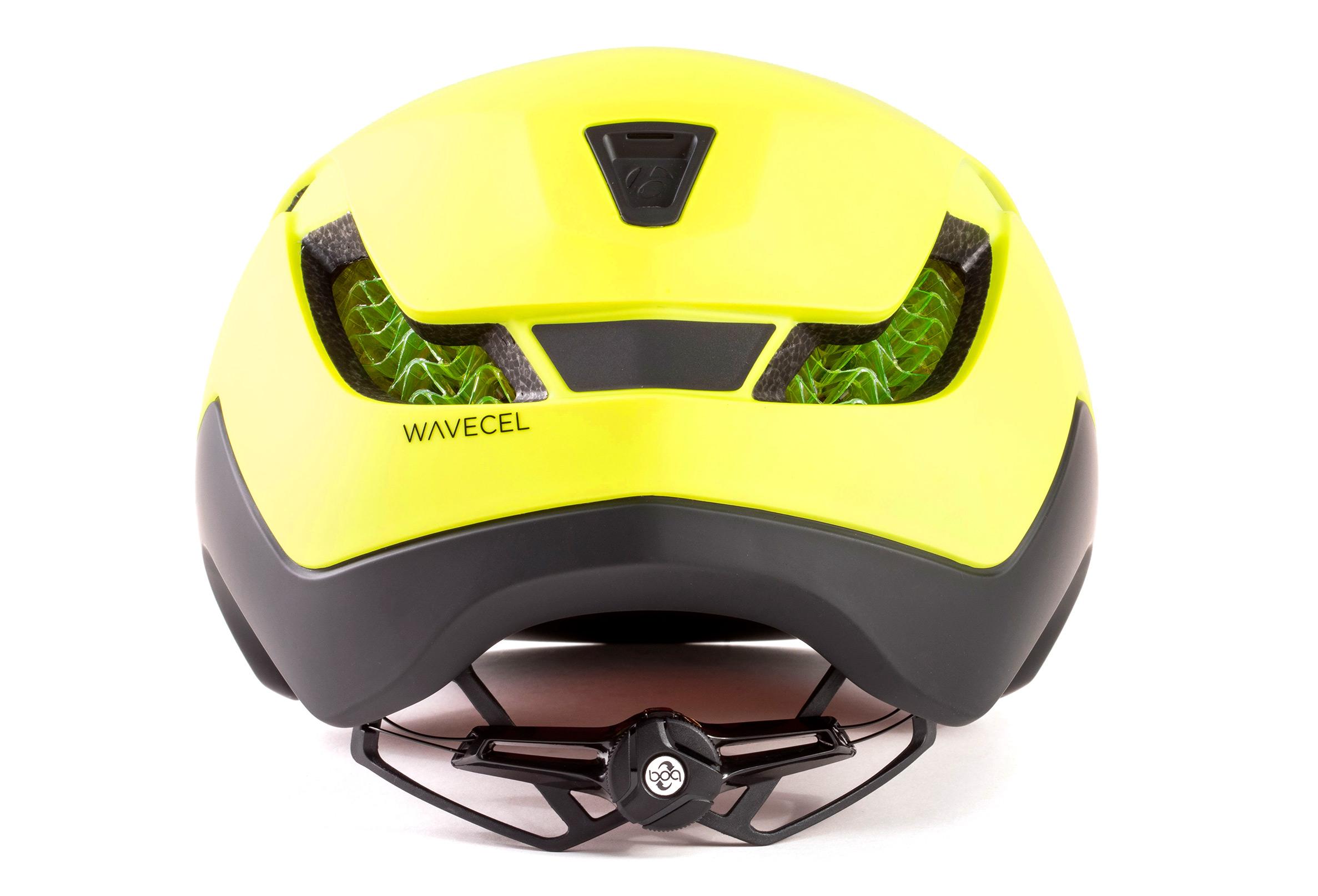 Helm City Bontrager Charge WaveCel Gelb Radioaktiv