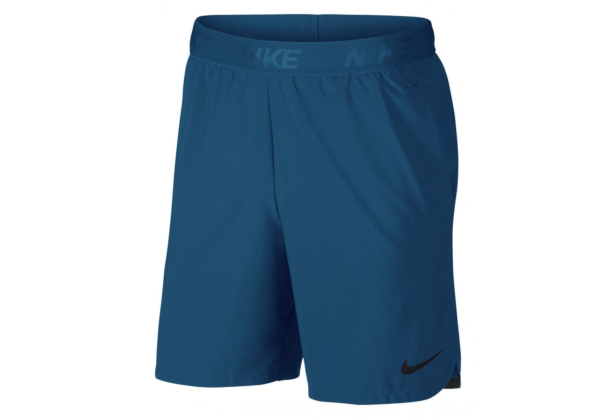 Nike Short Flex Training Bleu Homme