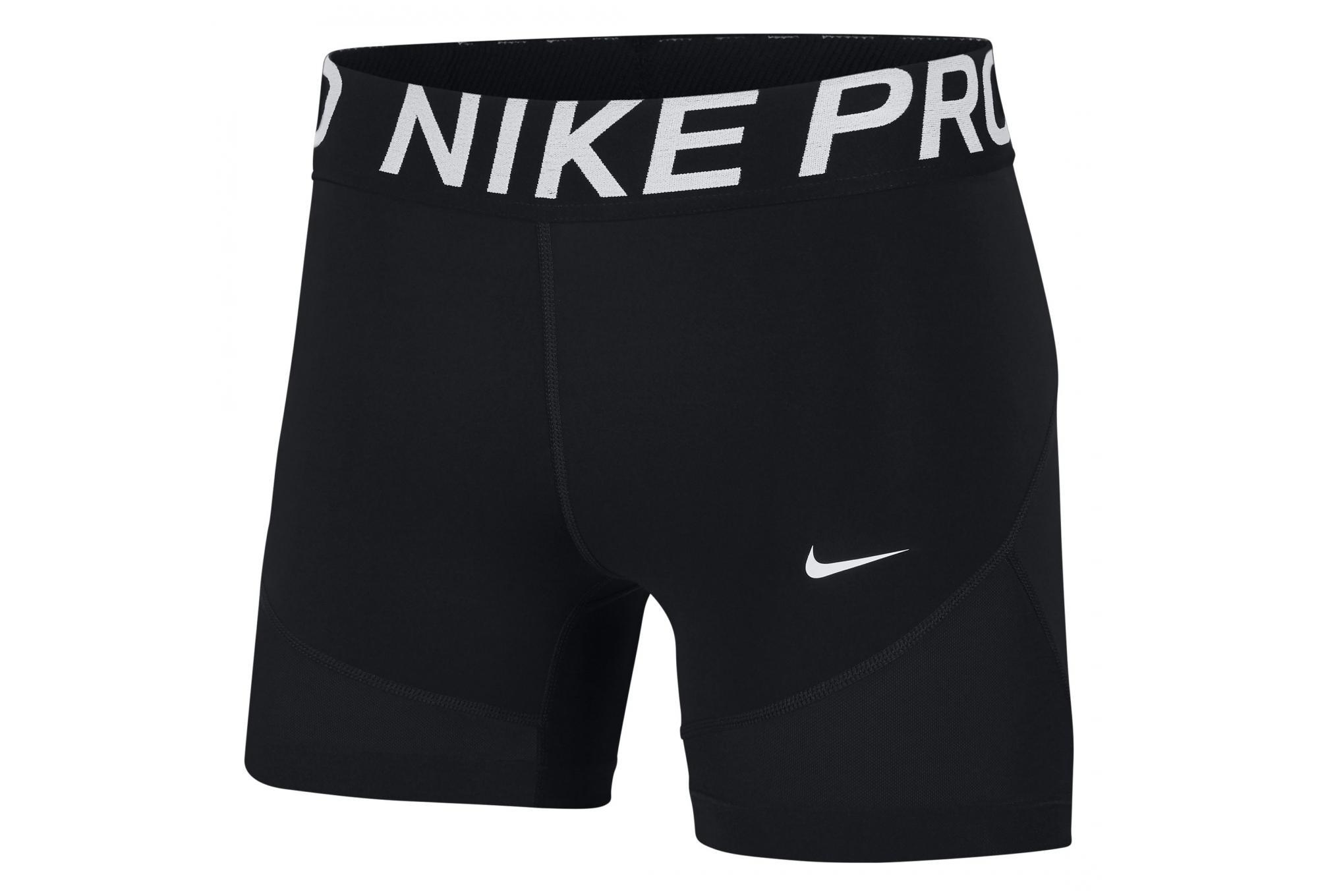 Mini short Femme Nike Pro 13cm Noir