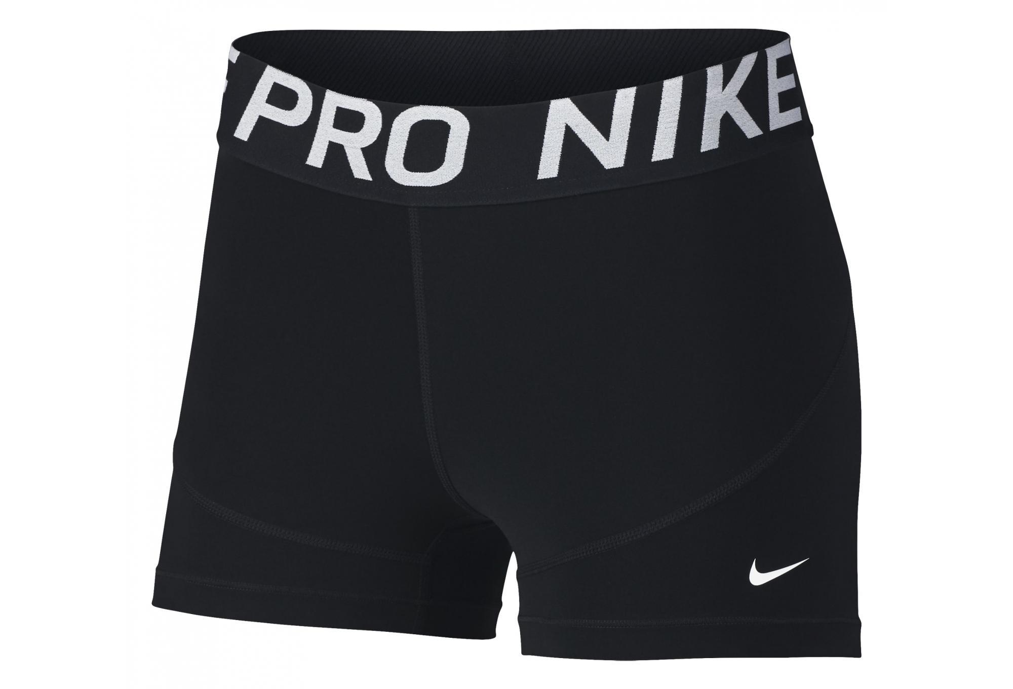 multiple colors utterly stylish how to buy Nike Mini-short Pro 7.5cm Black Women