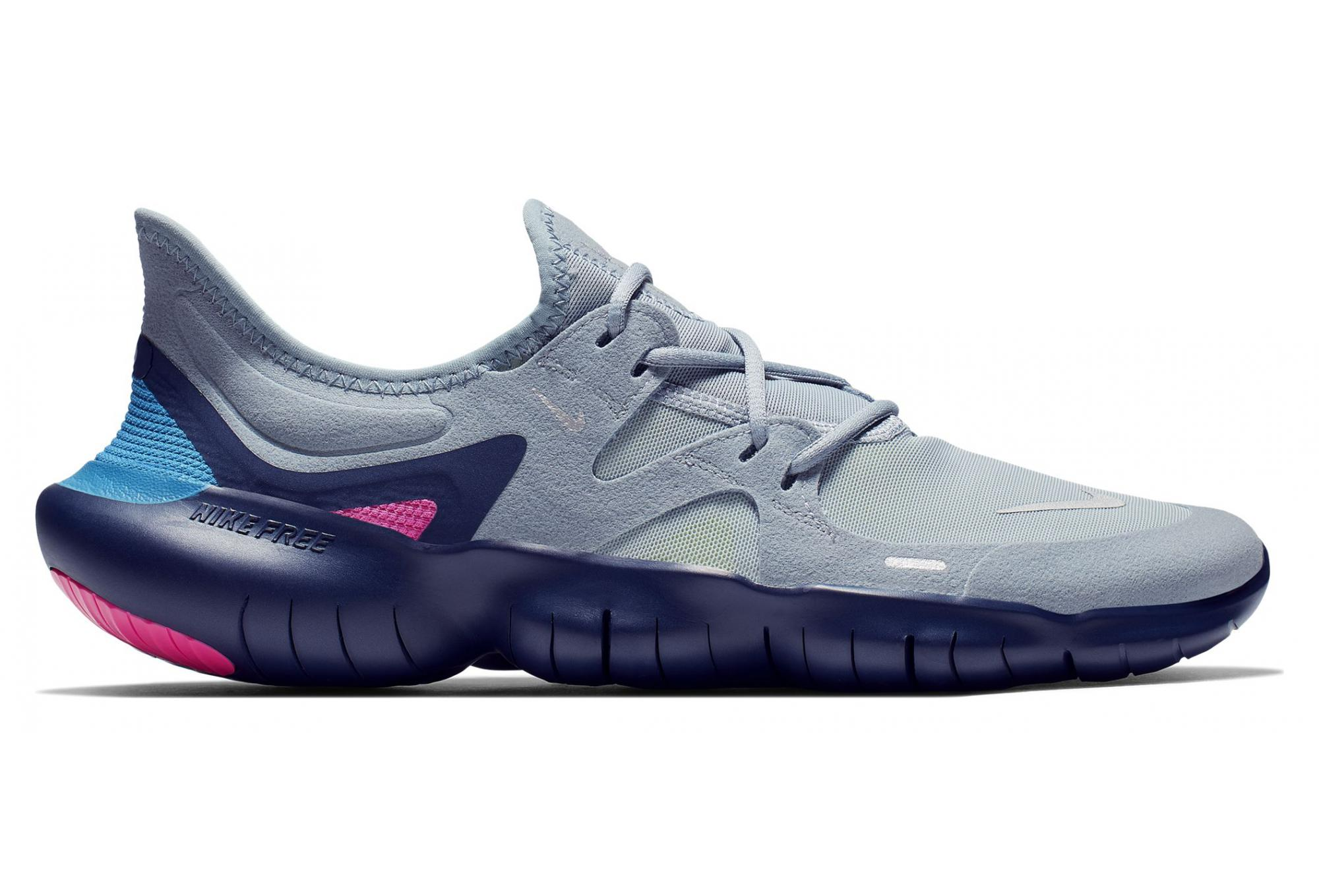 best loved 5232f cad0e Nike Free RN 5.0 Grey Blue Pink Men