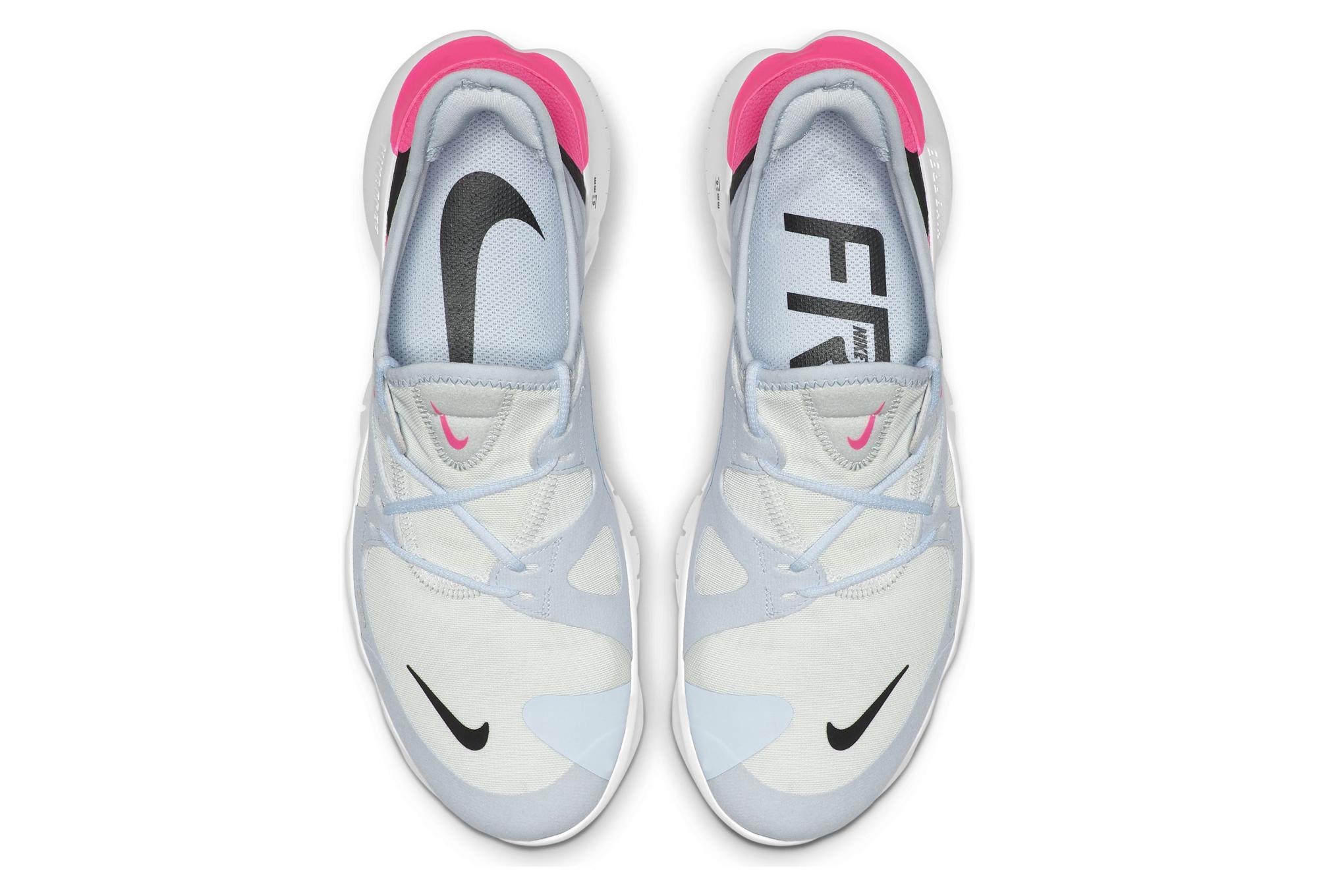 Nike Free RN 5.0 Gris Rose Femme