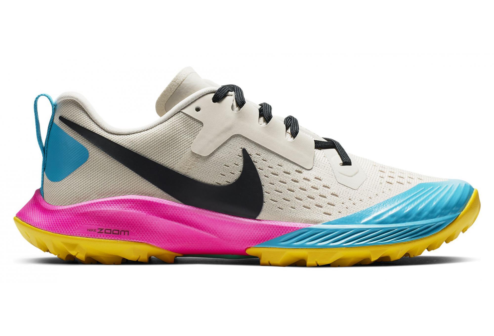 info for 792c8 4c3f9 Chaussures de Trail Femme Nike Air Zoom Terra Kiger 5 Blanc   Bleu