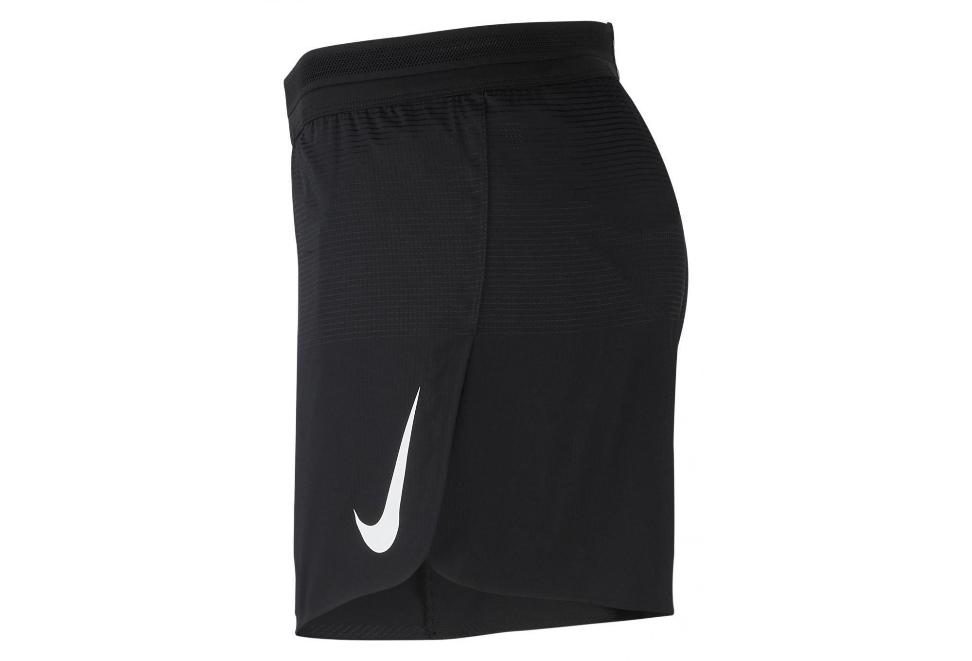 Nike Short de course Aeroswift 13cm Noir Homme