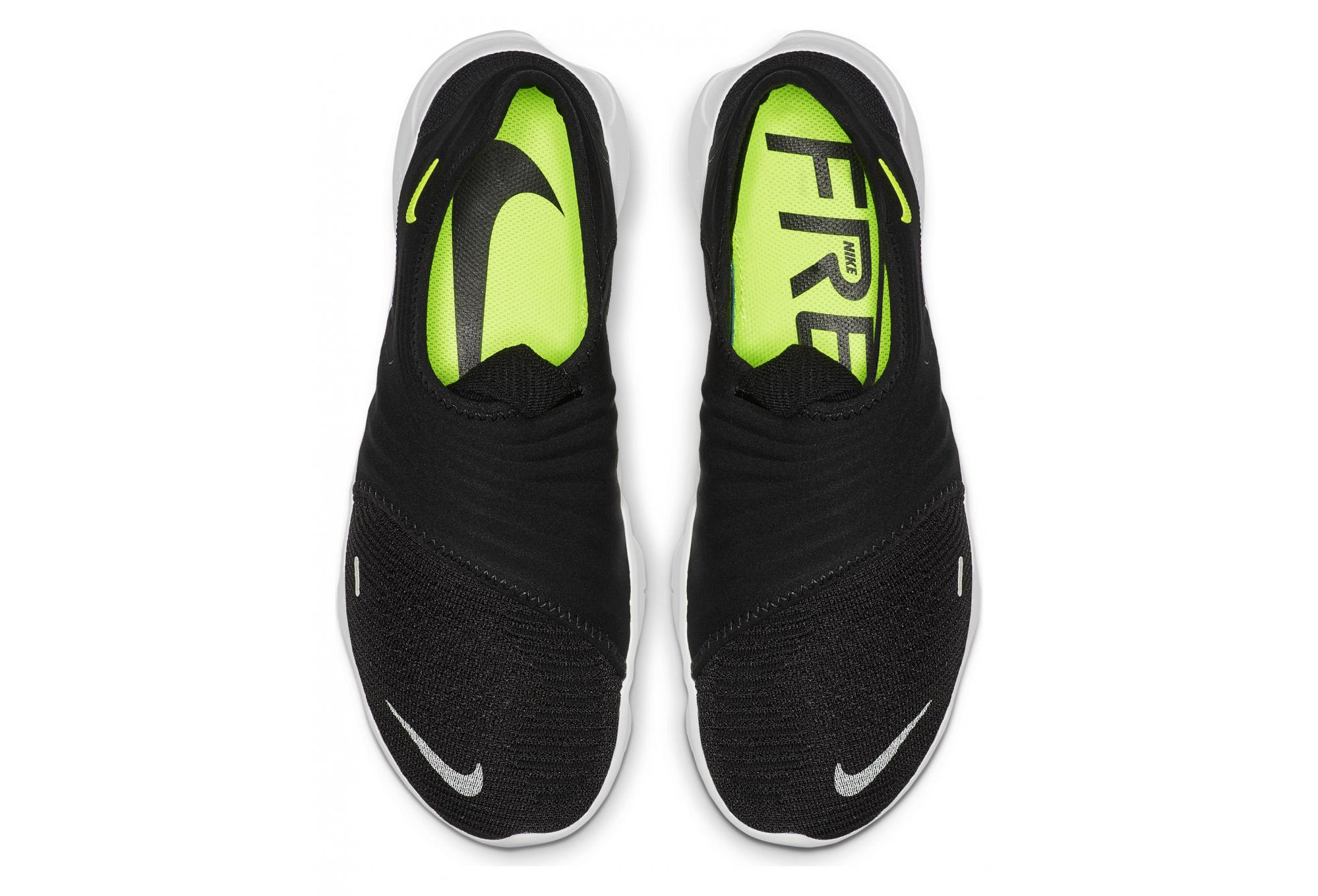 Nike Free RN Flyknit 3.0 Black White Men