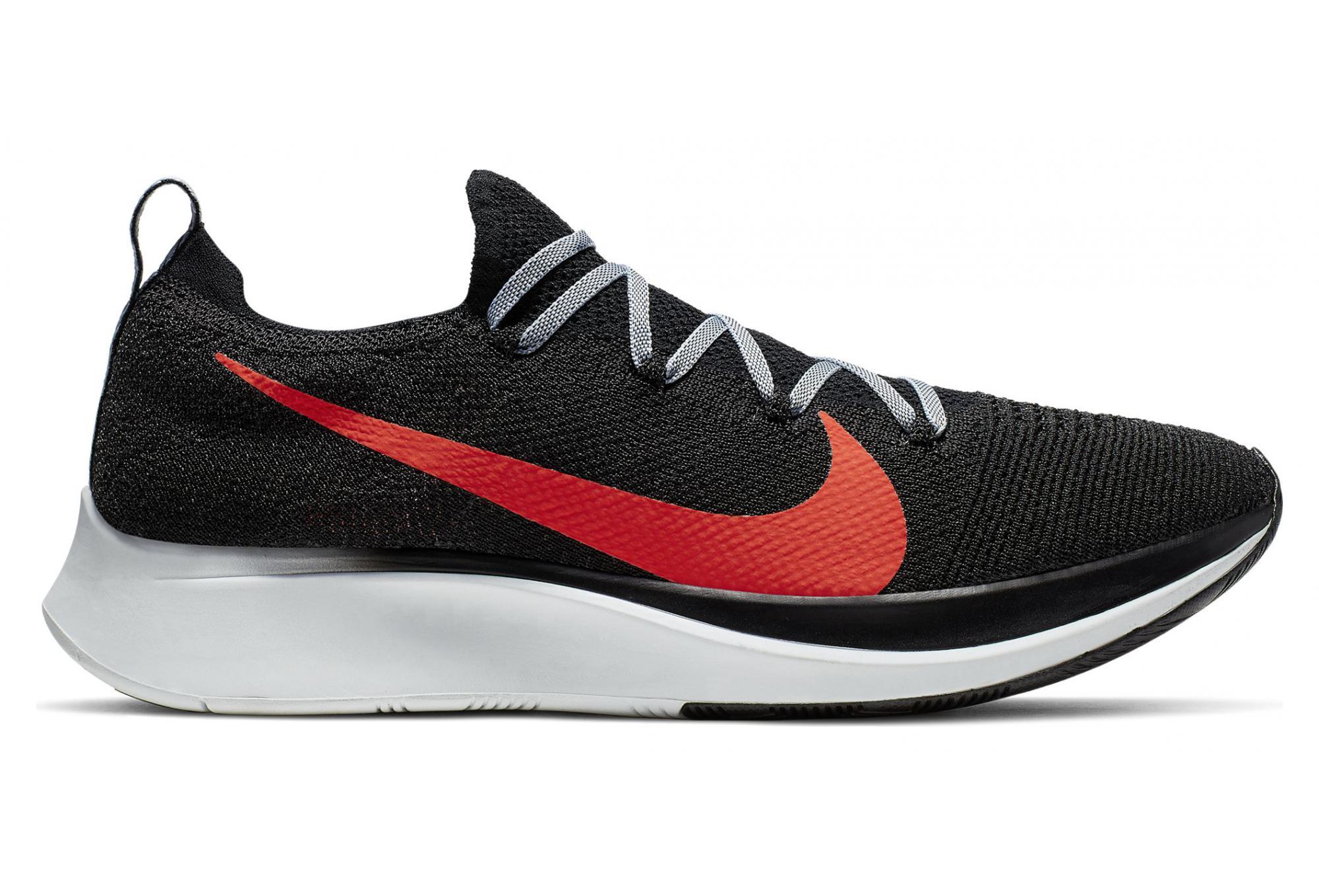 Nike Zoom Fly Flyknit Black Red Men