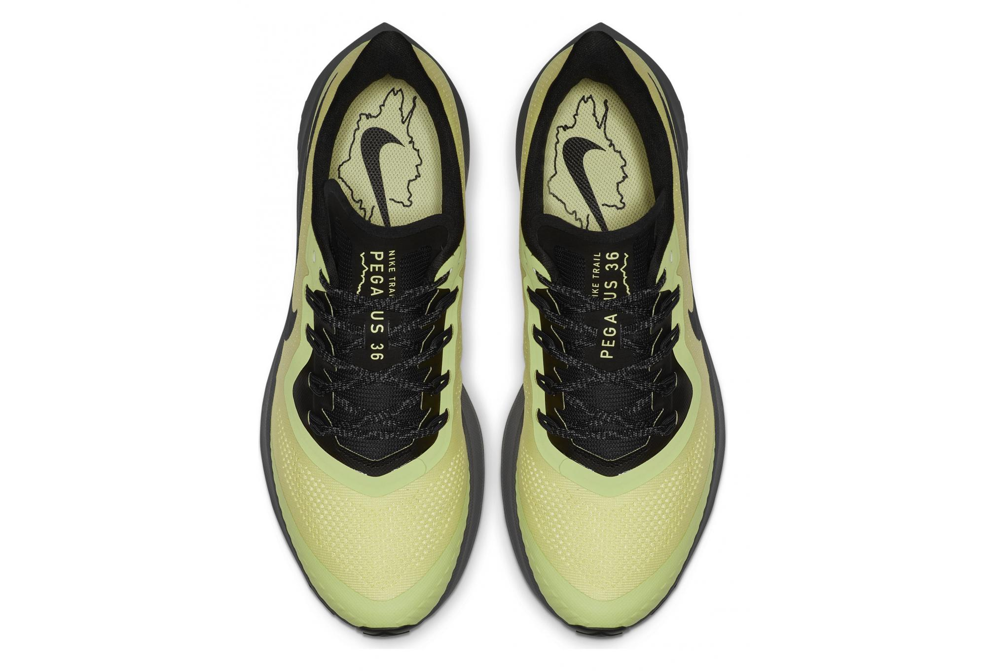 Nike Air Zoom Pegasus 36 Trail Herren Laufschuhe Gelb Grau