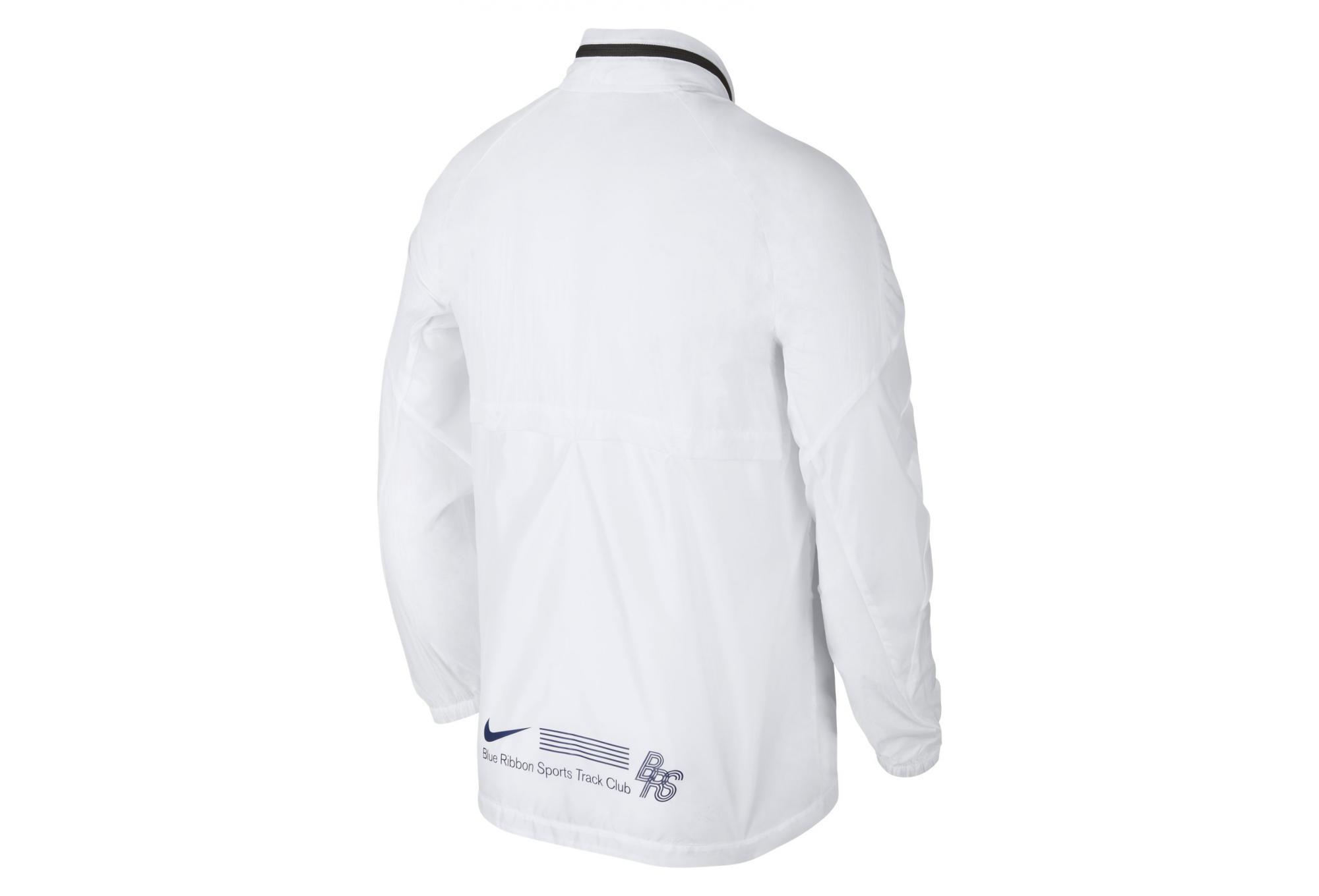 Veste Nike Zip Track Jacket BRS Blanc Bleu Homme