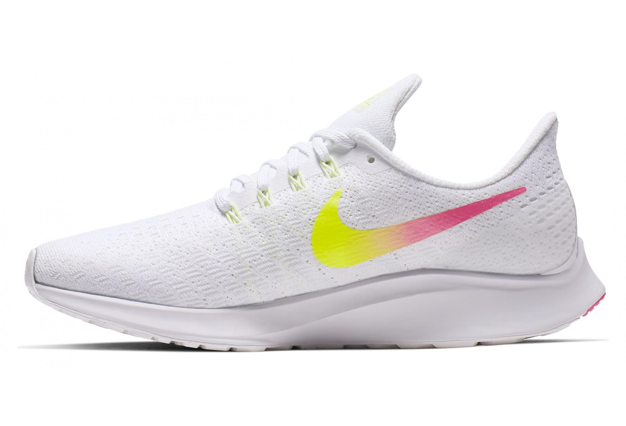 Nike Air Zoom Pegasus 35 White Yellow Pink Women