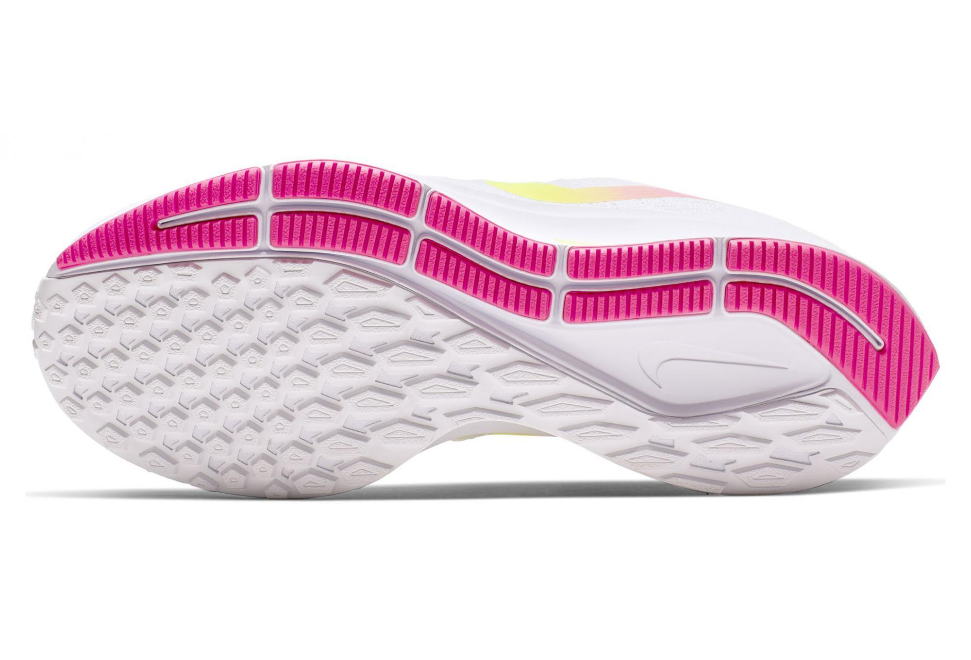Scarpe da Running Nike Air Zoom Pegasus 35 Bianco Giallo Rosa da Donna