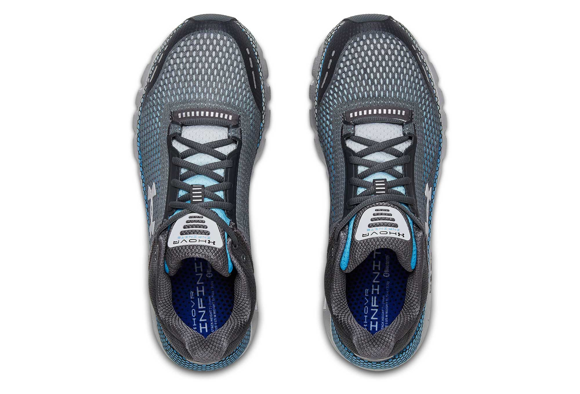 c110a41627d Zapatillas Under Armour HOVR Infinite para Hombre Gris   Azul