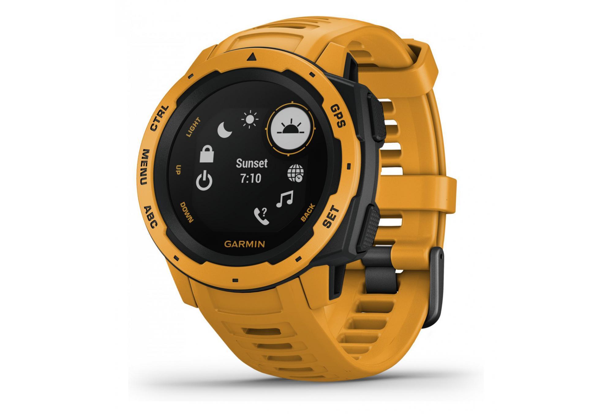 Garmin Instinct Yellow GPS Watch