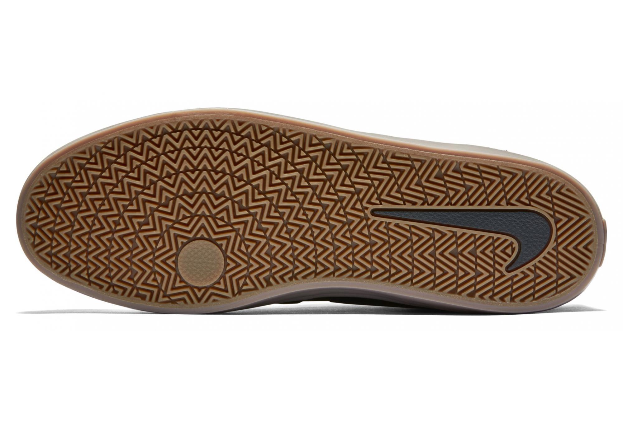 Chaussures Nike SB Check Solarsoft Noir Beige Gum   Alltricks.fr