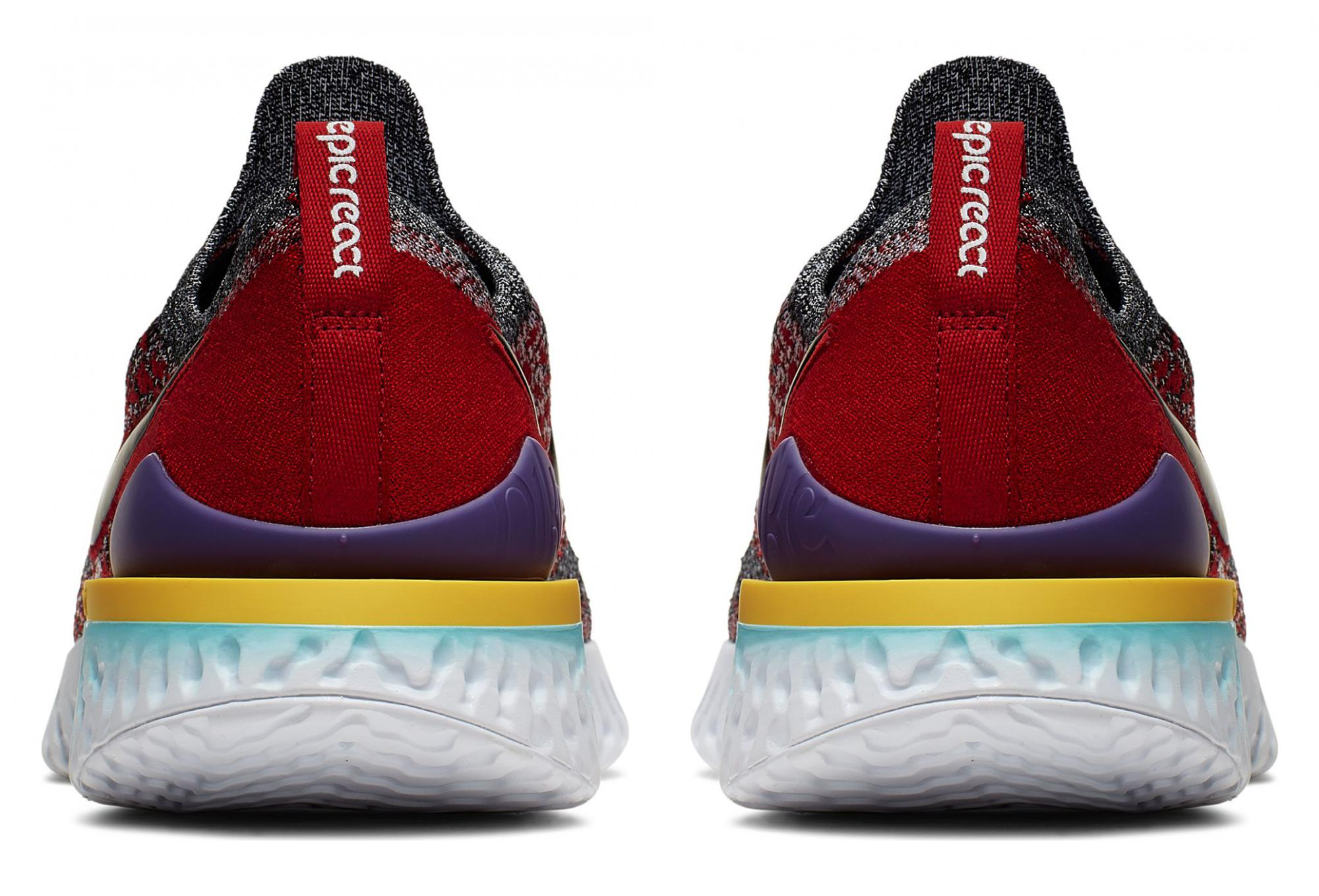 Nike Epic React Flyknit 2 Black Multi color Men