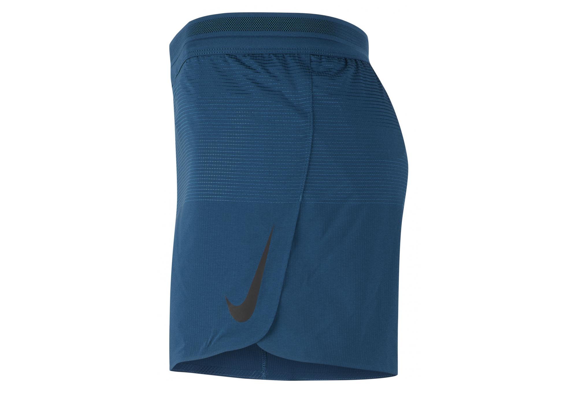 Short de course Nike Aeroswift 13cm Bleu Homme