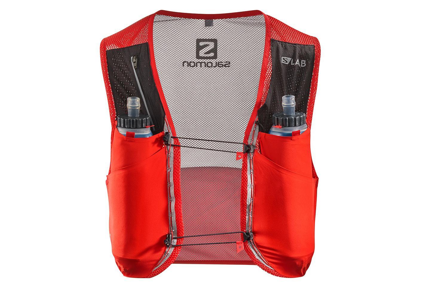 nouvelle collection b04a7 fc267 Salomon Bag S-Lab Sense Ultra 5 Racing Set Red