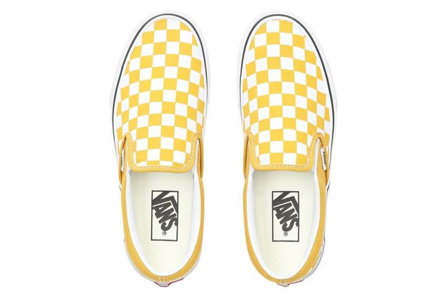 slip on vans femme jaune