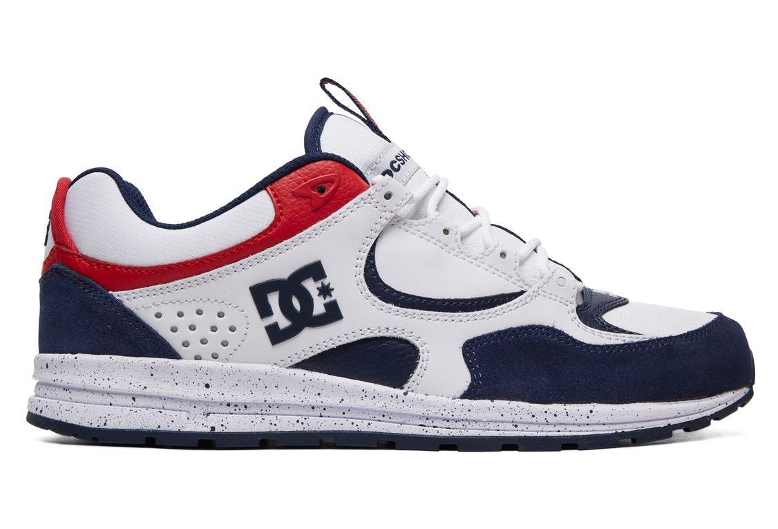 reputable site 7eecf cac60 DC Shoes Schuh Kalis Lite Weiß / Rot / Blau