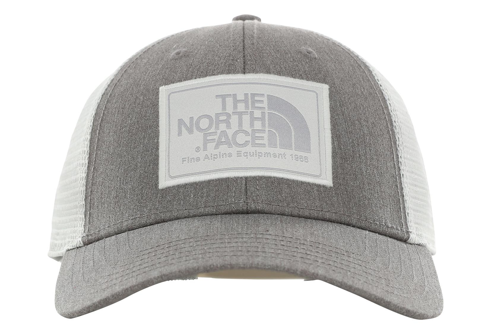 5dbb98fc240bb6 The North Face Mudder Trucker Hat Grey Unisex | Alltricks.com