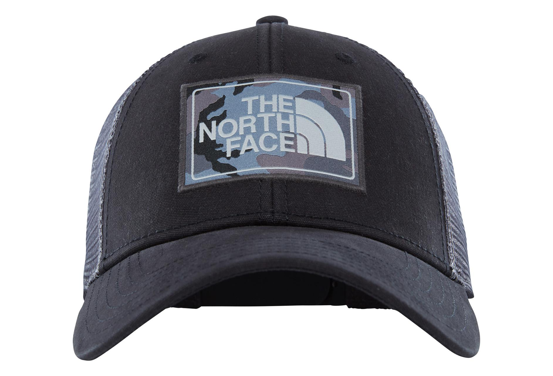 5a256a0ef2e63 Mudder Trucker Hat The North Face black grey Unisex