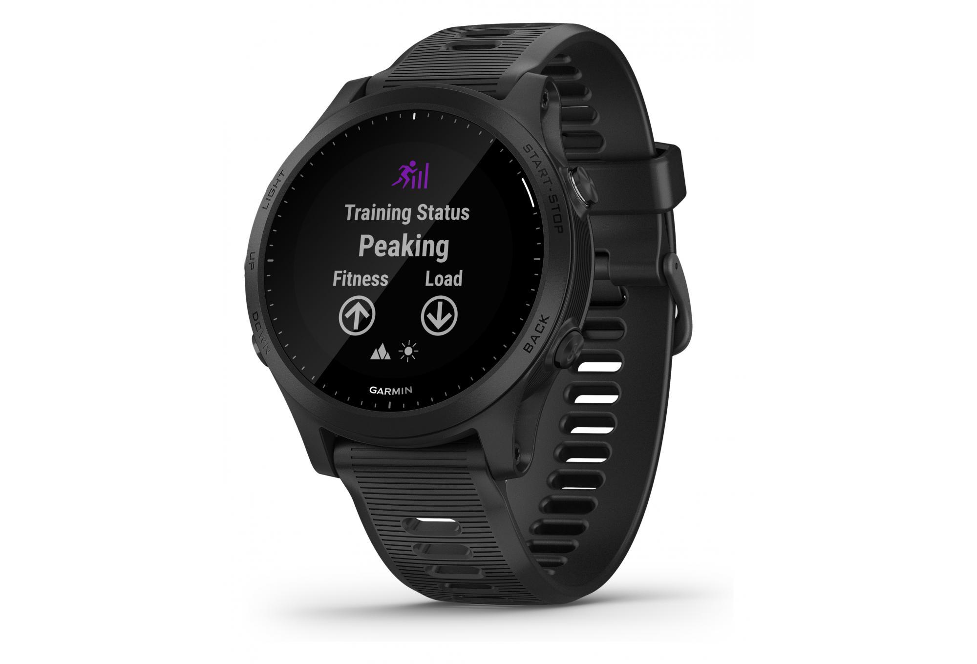 Garmin Forerunner 945 Gps Watch Black With Black Coloured Band