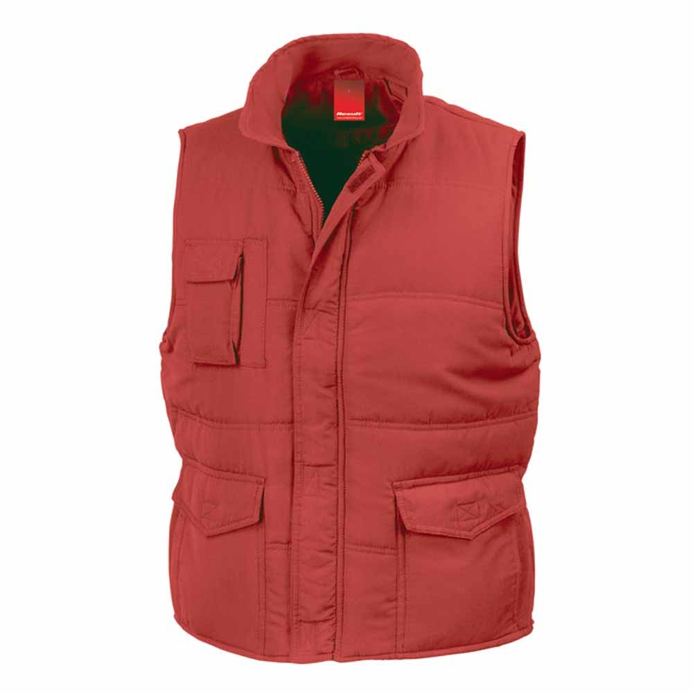 Anorak Rouge Result R094x Homme Doudoune Manches Sans Bodywarmer 17q0pv7n