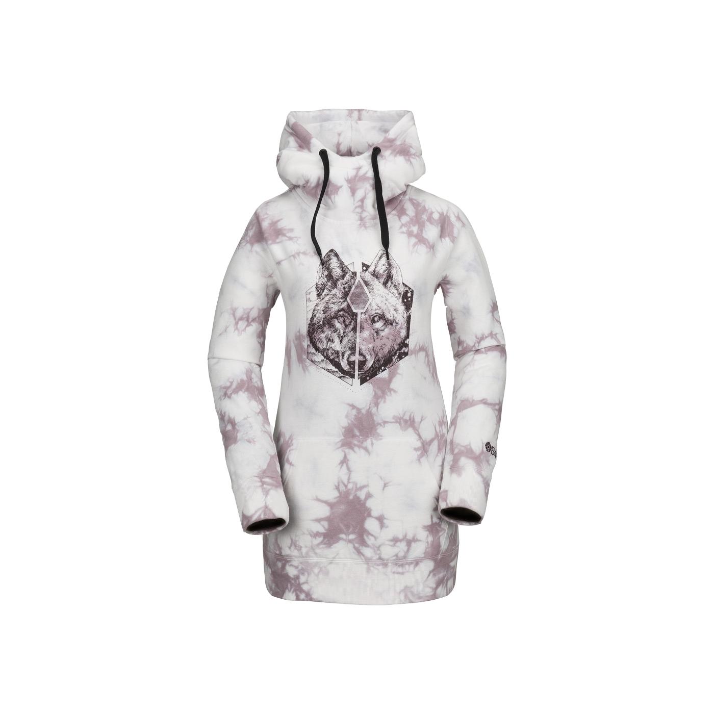 Fleece Pover Sweat Pink Volcom Costus 1Bqwgt