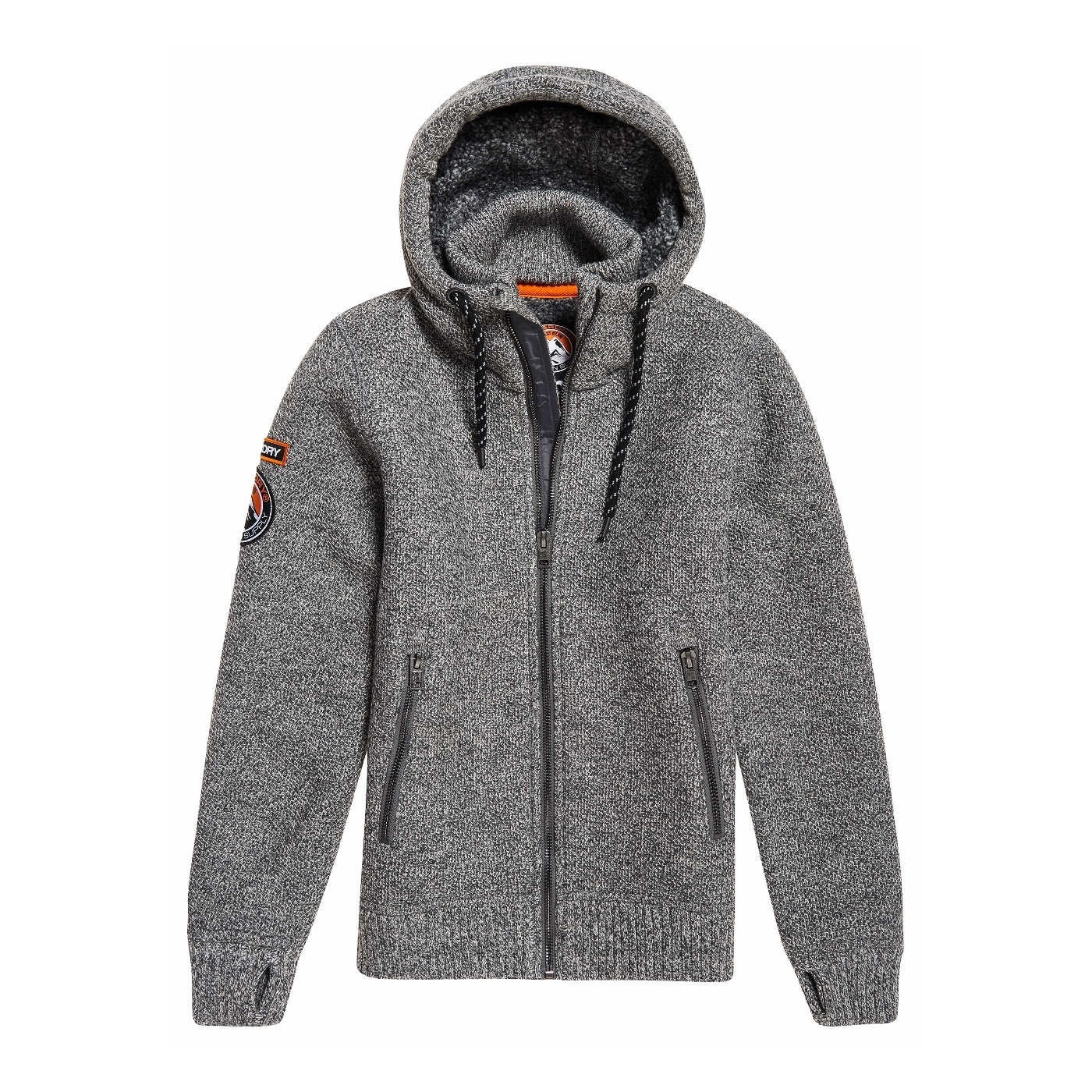 Twist Expedition Superdry Grey Ziphood Gilet PqIHwP5A