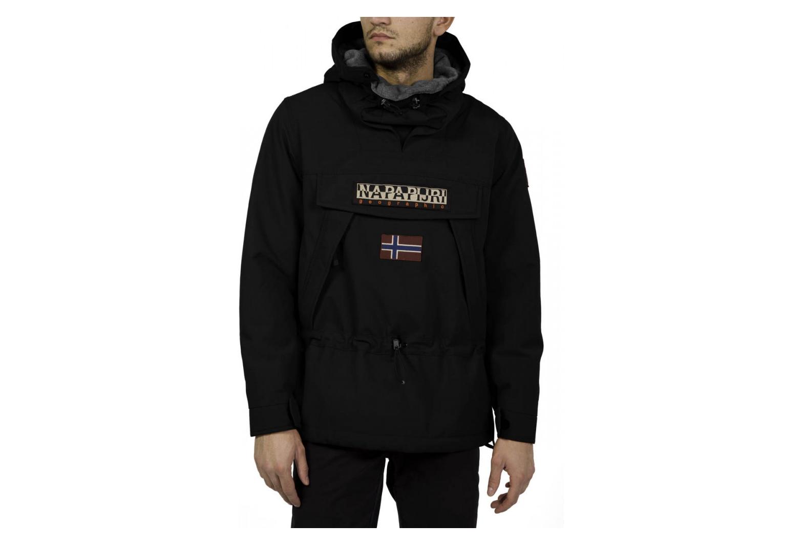 code promo c9aee 7efd6 Veste De Ski Napapijri Skidoo 2 Black
