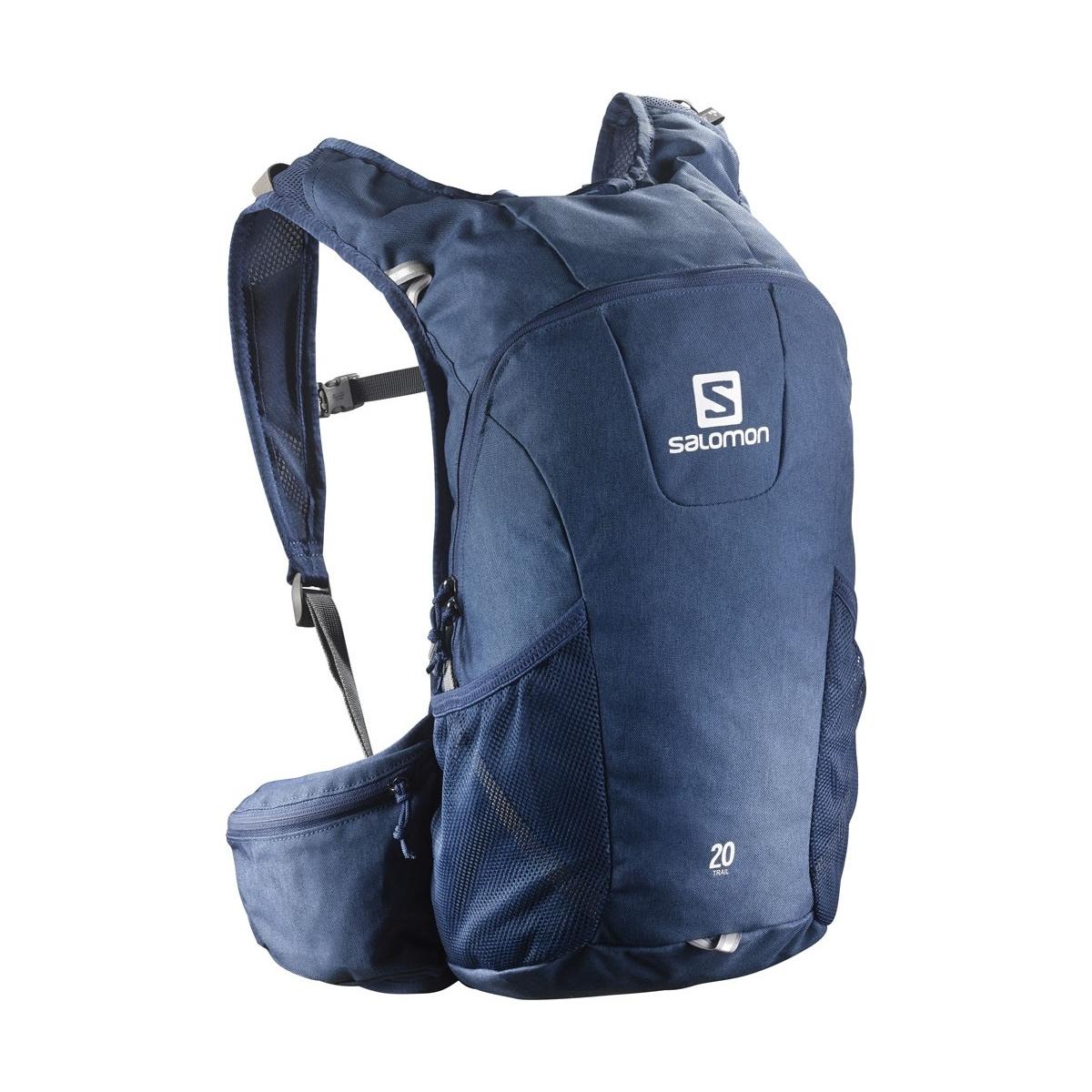 meilleures baskets f5dbd cfefc Sac A Dos Salomon Trail 20 Midnight Blue Chine Bl