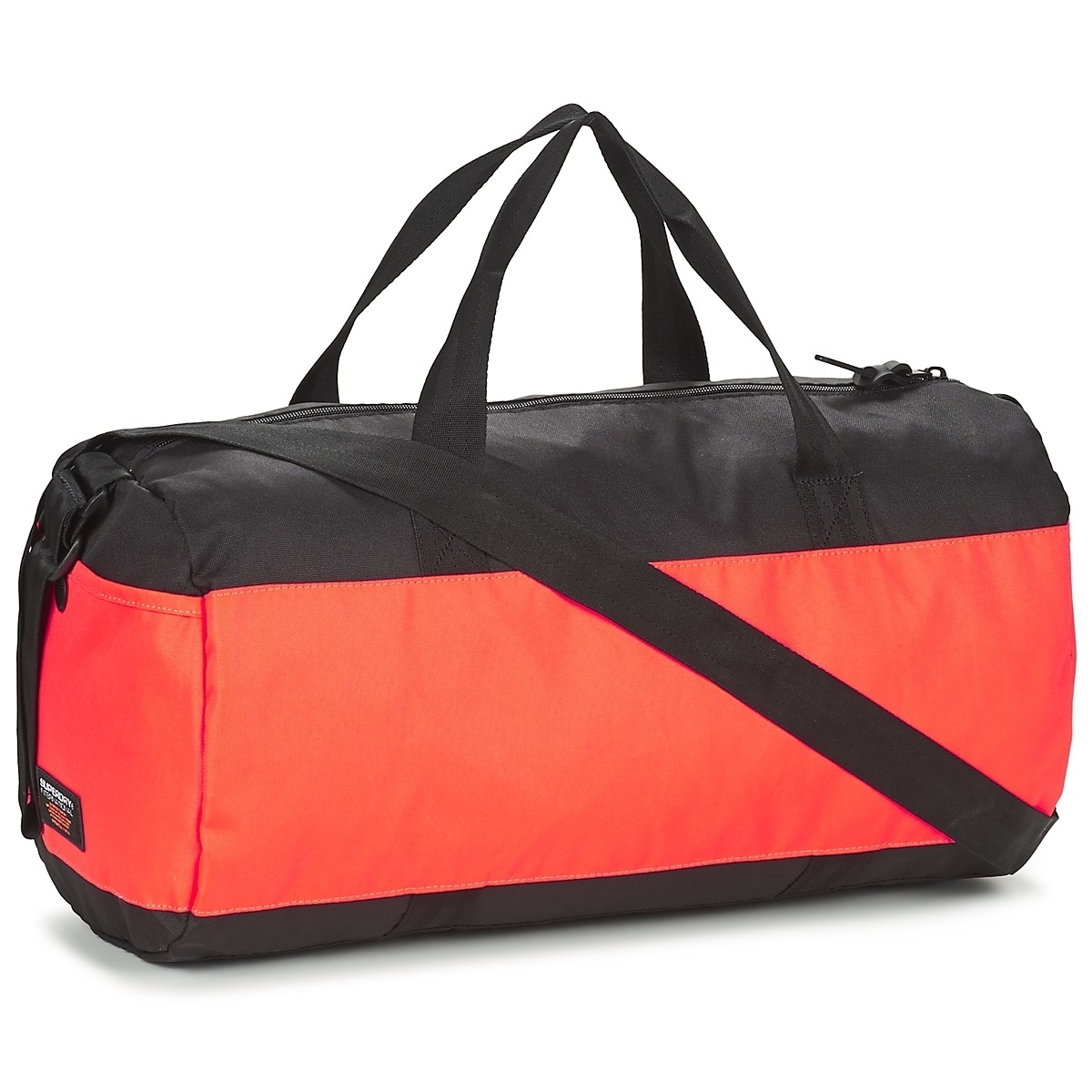 d082d207ae Sac De Sport Superdry Montana Barrel Black /orange | Alltricks.com