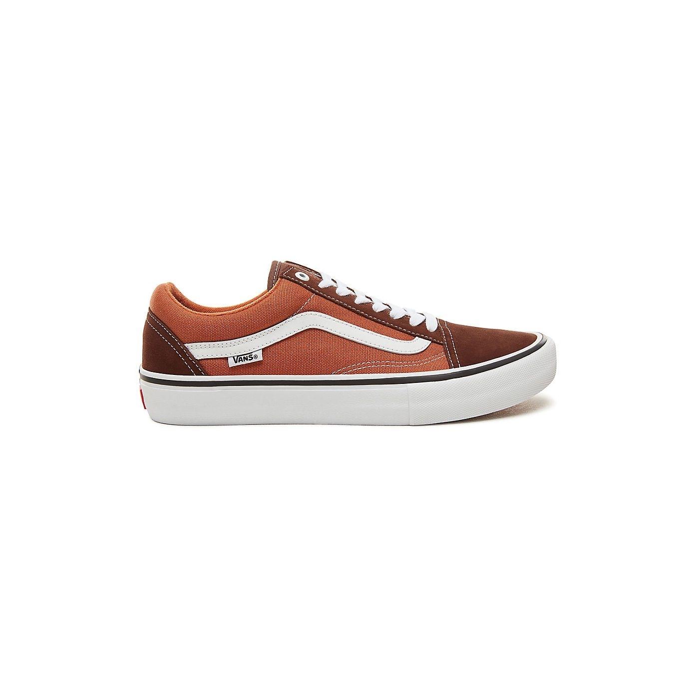 05401c71e8482 Baskets Vans Old Skool Pro Potting Soil / Leather Brown