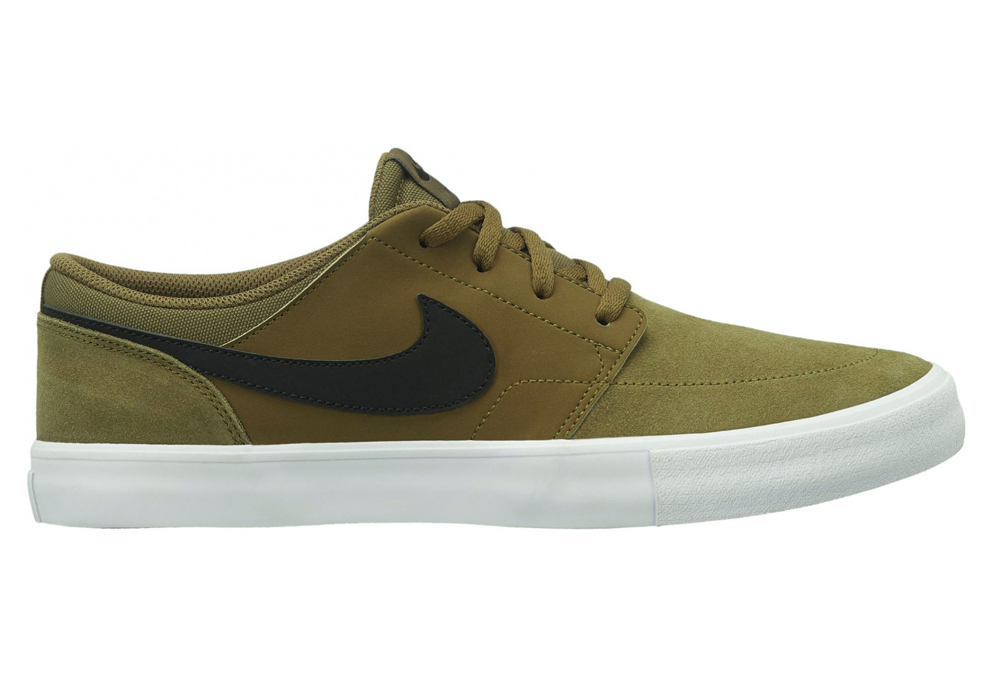 03f3a2946f Nike SB Solarsoft Portmore II Shoes Olive / Black | Alltricks.com