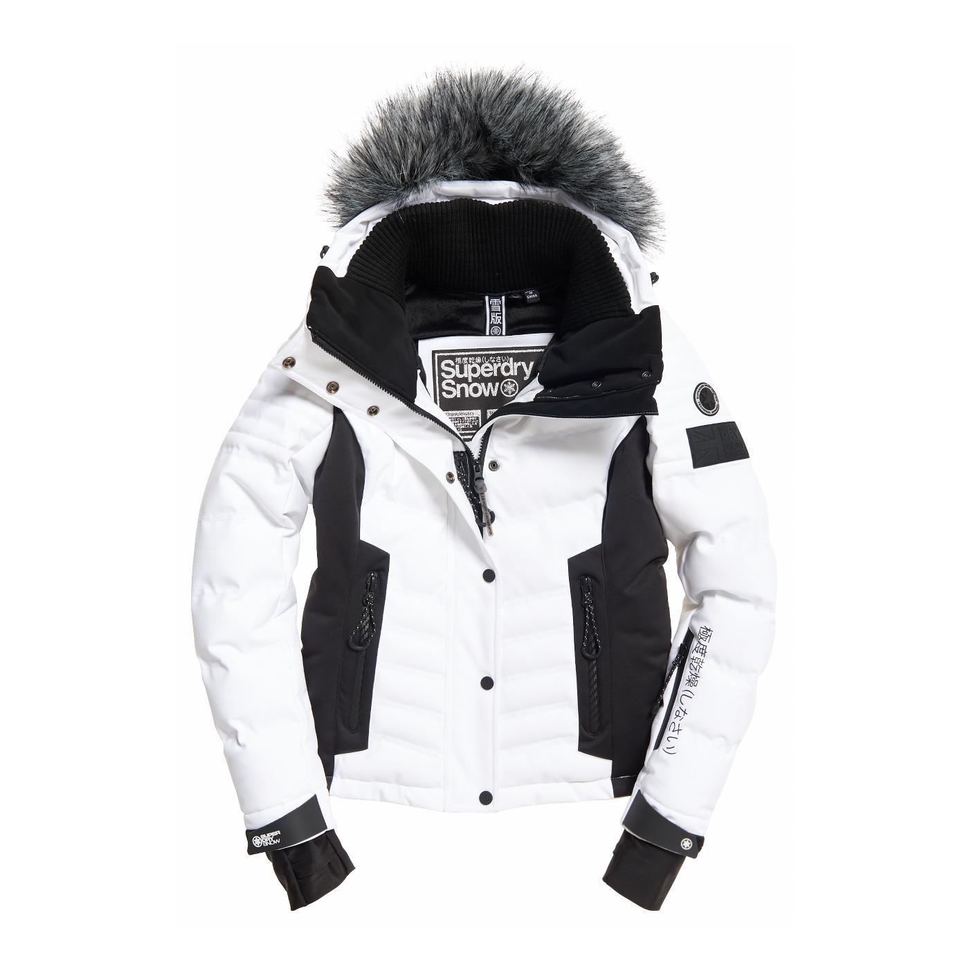 Optic Veste Superdry De Snow Luxe Puffer Ski dqrqBYEw
